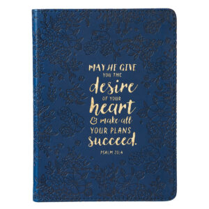 Desire of Your Heart Handy-sized LuxLeather Journal Psalm 20: