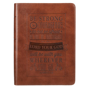 Be Strong and Courageous Handy-sized Journal - Joshua 1:9