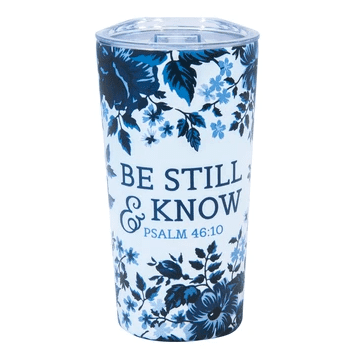 Be Still & Know Psalm 46:10 (Stainless Steel Mug)
