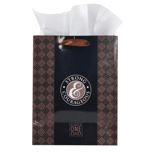 Be Strong And Courageous (Gift Bag)